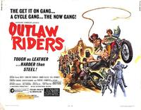 Outlaw Riders - 22 x 28 Movie Poster - Half Sheet Style A