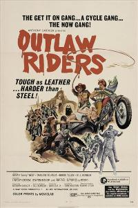 Outlaw Riders - 11 x 17 Movie Poster - Style A