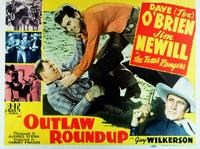 Outlaw Roundup - 11 x 14 Movie Poster - Style B