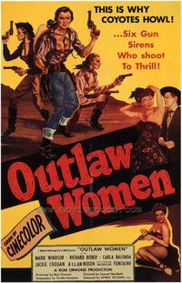 Outlaw Women - 43 x 62 Movie Poster - Bus Shelter Style A
