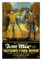 Outlaws of Red River - 11 x 17 Movie Poster - Style A