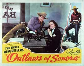 Outlaws of Sonora - 11 x 14 Movie Poster - Style A