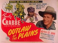 Outlaws of the Plains - 11 x 14 Movie Poster - Style A