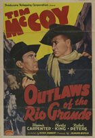 Outlaws of the Rio Grande - 27 x 40 Movie Poster - Style A