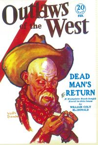 Outlaws Of The West (Pulp) - 11 x 17 Pulp Poster - Style A