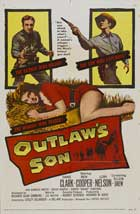 Outlaw's Son - 11 x 17 Movie Poster - Style B