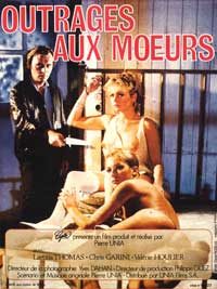 Outrage aux Moeurs - 11 x 17 Movie Poster - French Style A