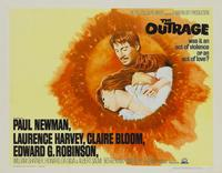 The Outrage - 22 x 28 Movie Poster - Half Sheet Style A