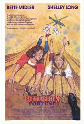 Outrageous Fortune - 27 x 40 Movie Poster - Style A