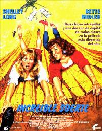 Outrageous Fortune - 11 x 17 Movie Poster - Spanish Style B