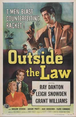 Outside the Law - 27 x 40 Movie Poster - Style A