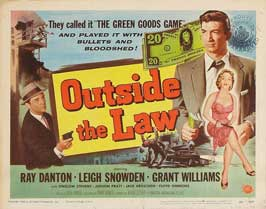 Outside the Law - 11 x 14 Movie Poster - Style A