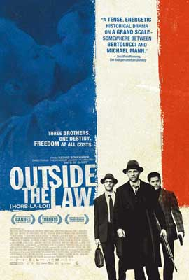 Outside the Law - 11 x 17 Movie Poster - Style C