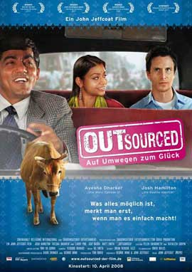 Outsourced - 11 x 17 Movie Poster - German Style A