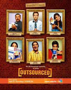 Outsourced (TV) - 11 x 17 TV Poster - Style A