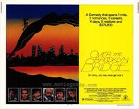 Over the Brooklyn Bridge - 22 x 28 Movie Poster - Half Sheet Style A