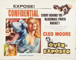 Over-Exposed - 22 x 28 Movie Poster - Half Sheet Style A