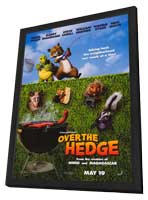 Over the Hedge - 11 x 17 Movie Poster - Style A - in Deluxe Wood Frame