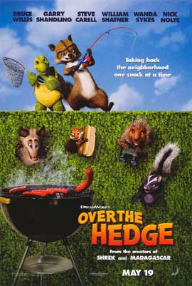 Over the Hedge - 27 x 40 Movie Poster - Style A