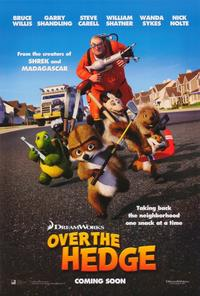 Over the Hedge - 27 x 40 Movie Poster - Style B