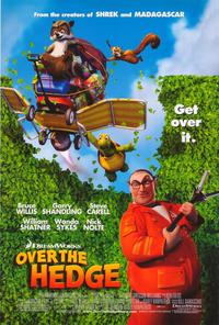 Over the Hedge - 43 x 62 Movie Poster - Bus Shelter Style A