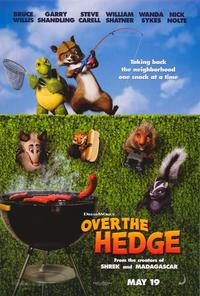 Over the Hedge - 43 x 62 Movie Poster - Bus Shelter Style B