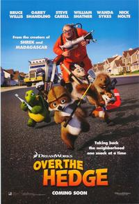 Over the Hedge - 43 x 62 Movie Poster - Bus Shelter Style C