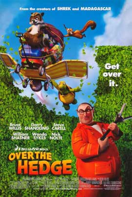 Over the Hedge - 11 x 17 Movie Poster - Style I