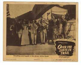 Over the Santa Fe Trail - 11 x 14 Movie Poster - Style F
