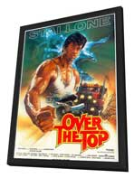 Over the Top - 11 x 17 Movie Poster - Style D - in Deluxe Wood Frame