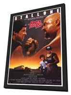 Over the Top - 27 x 40 Movie Poster - Style A - in Deluxe Wood Frame