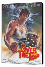 Over the Top - 11 x 17 Movie Poster - German Style A - Museum Wrapped Canvas