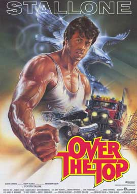 Over the Top - 11 x 17 Movie Poster - German Style A