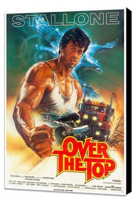 Over the Top - 11 x 17 Movie Poster - Style D - Museum Wrapped Canvas