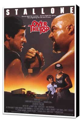 Over the Top - 27 x 40 Movie Poster - Style A - Museum Wrapped Canvas