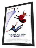 Overboard - 27 x 40 Movie Poster - Style A - in Deluxe Wood Frame
