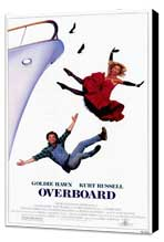 Overboard - 11 x 17 Movie Poster - Style A - Museum Wrapped Canvas