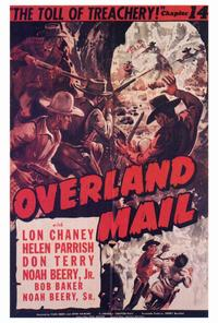 Overland Mail - 27 x 40 Movie Poster - Style A