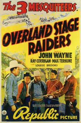 Overland Stage Raiders - 11 x 17 Movie Poster - Style A