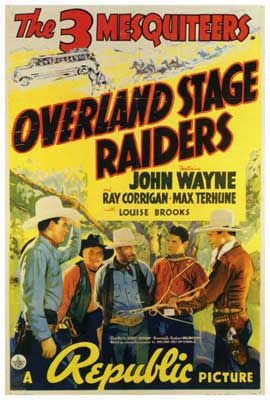 Overland Stage Raiders - 27 x 40 Movie Poster - Style A