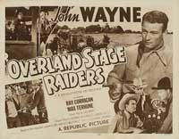 Overland Stage Raiders - 11 x 14 Movie Poster - Style C