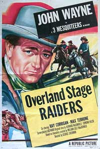 Overland Stage Raiders - 11 x 17 Movie Poster - Style B