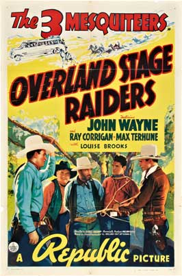 Overland Stage Raiders - 27 x 40 Movie Poster - Style C