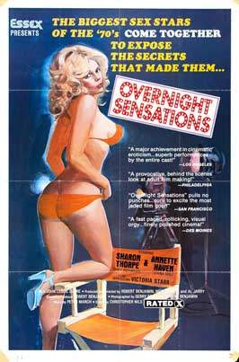 Overnight Sensations - 11 x 17 Movie Poster - Style B