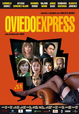 Oviedo Express - 11 x 17 Movie Poster - Spanish Style A