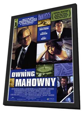 Owning Mahowny - 11 x 17 Movie Poster - Style B - in Deluxe Wood Frame