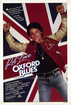 Oxford Blues - 11 x 17 Movie Poster - Style A