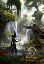 Oz: The Great and Powerful - DS 1 Sheet Movie Poster - Style B