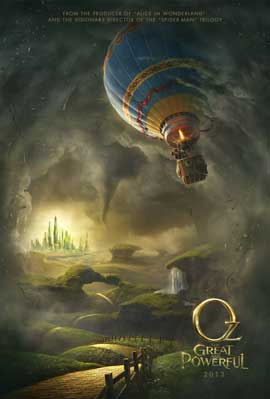Oz: The Great and Powerful - DS 1 Sheet Movie Poster - Style A