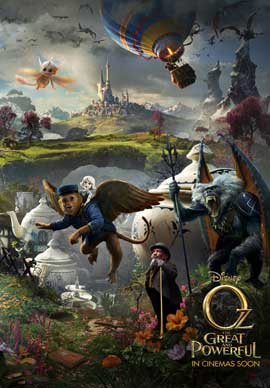 Oz: The Great and Powerful - DS 1 Sheet Movie Poster - Style D